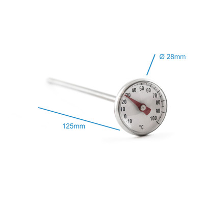 Teethermometer mit Clip